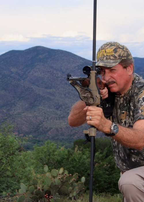 Stealth Pod X™ Rifle Monopod Kneeling Shot