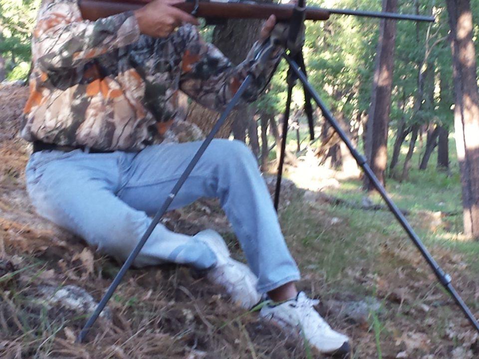 tripod shooting sticks Stealth Pod X