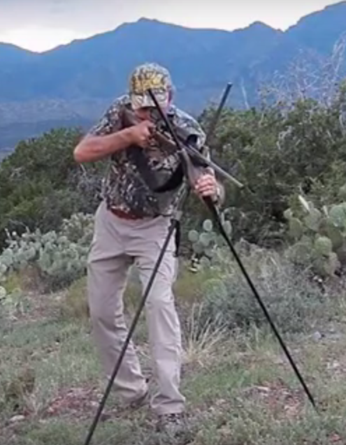 hunting bipod Stealth Pod X